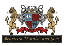 Benjamin Thornber Logo White Ground