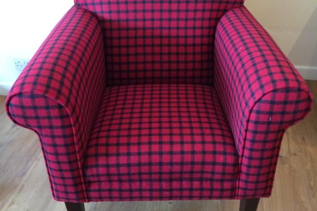 Hudson Chair In Moon Wool