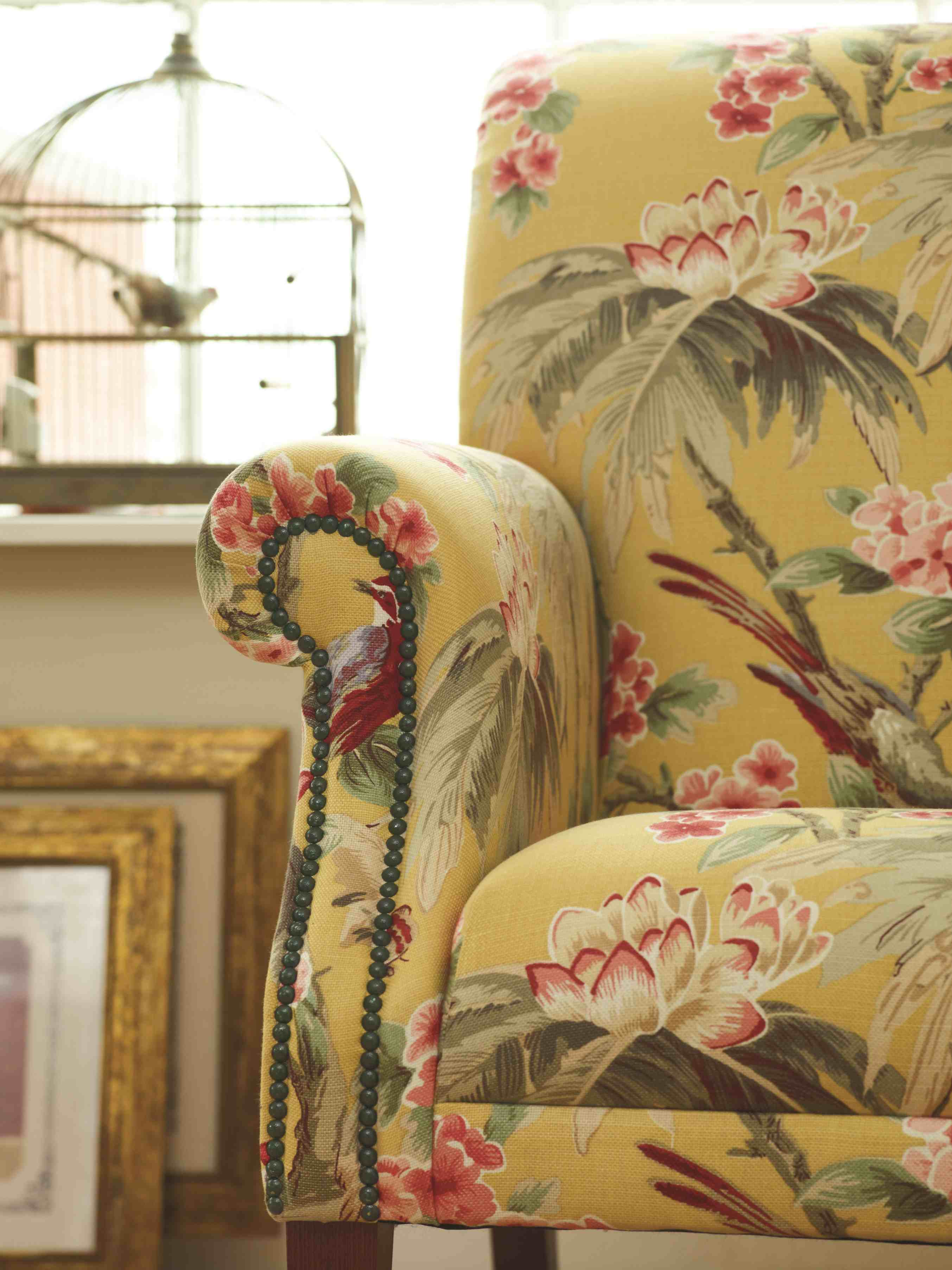 Sandringham Saffron Chair3