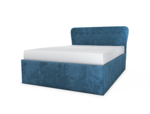 Cocktail Upholstered Storage Bed