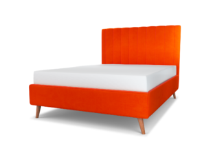Duke Upholstered Bed & Headboard