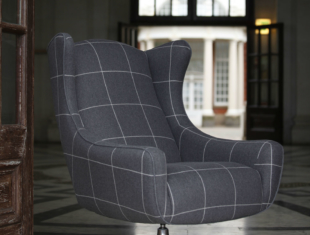 Space Swivel Wing Chair