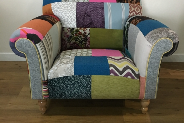 patchwork furniture fabric