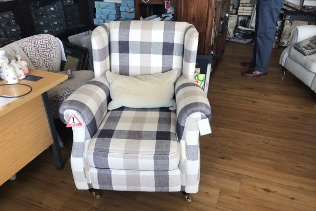 Abbotsbury Wing Chair Stock