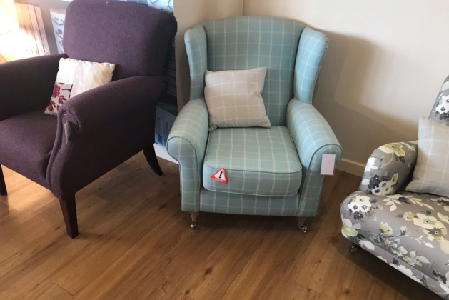 Holly Wing Chair Stock